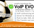 VoIP EVO SDK with DLL, OCX/ActiveX, COM, C-interface and .NET for Windows and Linux Screenshot 0