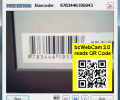 bcWebCam Read Barcodes with Web Cam Screenshot 0