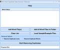 MS Word Duplicate Data Remove Software Screenshot 0