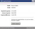 HDD Capacity Restore Screenshot 0