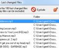 Last Changed Files Screenshot 0