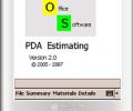 SOS - PDA Estimating Screenshot 0
