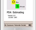 SOS - PDA Estimating Screenshot 0