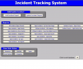 Incident Tracking System Screenshot 0
