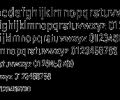 Uranus Condensed Font PS Mac Screenshot 0