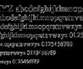 Tribune Font PS Mac Screenshot 0