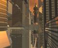 Sci-Fi Future City 3D Screensaver Screenshot 0
