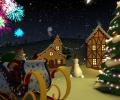 Xmas Holiday 3D Screensaver Screenshot 0