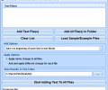 Add Data, Text & Characters To Files Software Screenshot 0