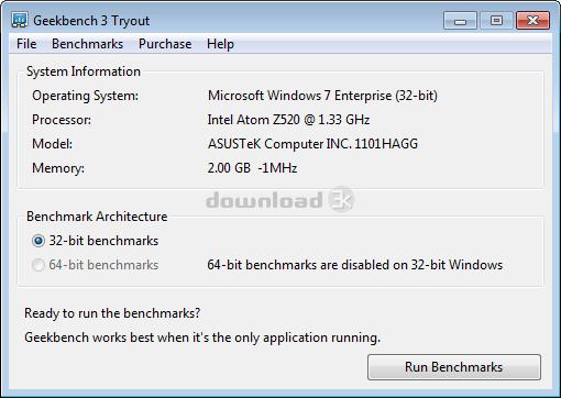 geekbench license key windows
