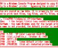 File2PRN - Console Mode File Printer Screenshot 0