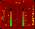 Blue Cat's Digital Peak Meter (Win only, Screenshot 0