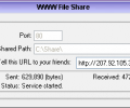 WWW File Share Screenshot 0