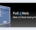 Poll4Web: Web 2.0 Flash Voting Poll Screenshot 0