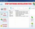 Stop Software Installation Tool Screenshot 0