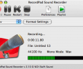 RecordPad Sound Recorder for Mac Screenshot 0