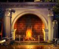 Relaxing Fireplace Screensaver Screenshot 0