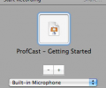 ProfCast for Macintosh Screenshot 0