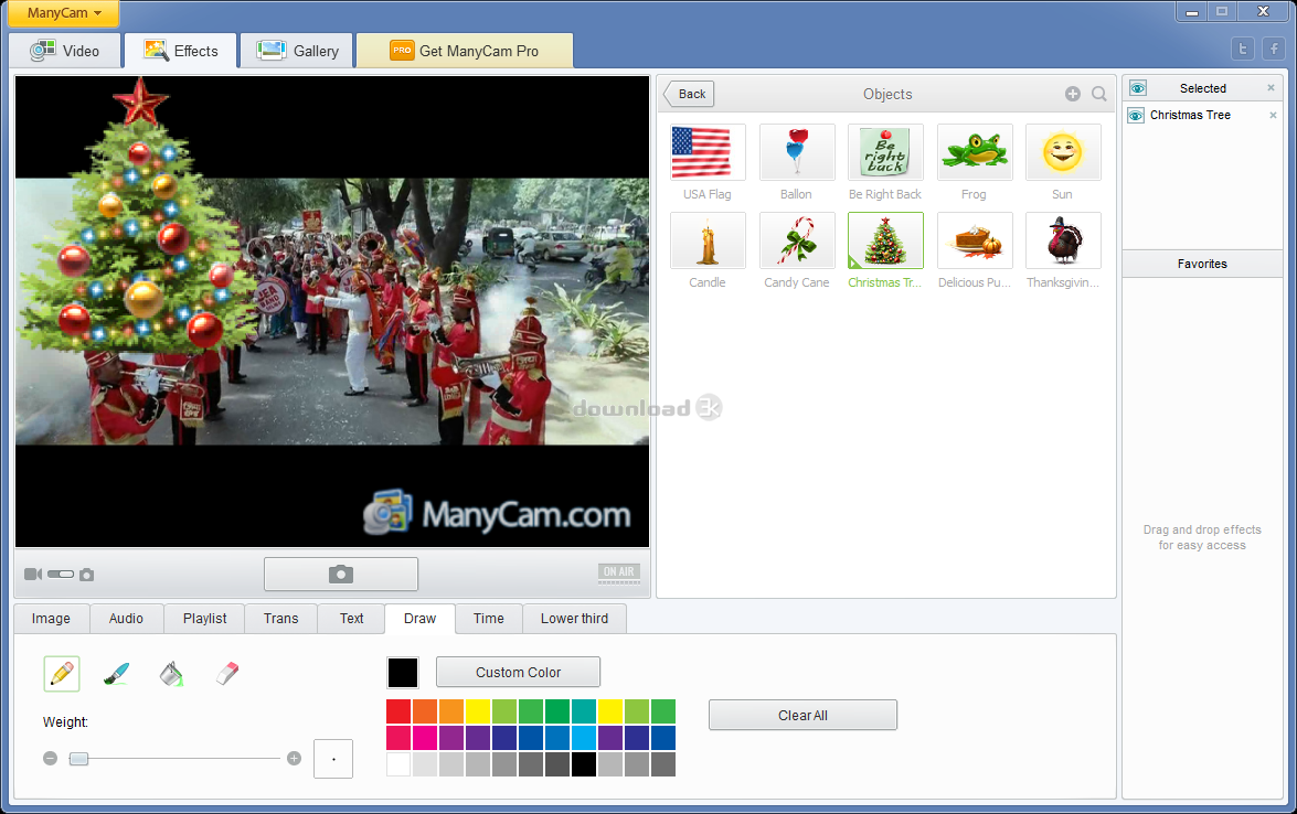 ManyCam 6 0 1 Review & Alternatives - Free download