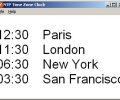 NTP Time Zone Clock Screenshot 0