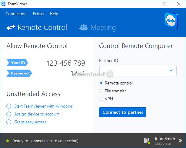 Download TeamViewer_Setup.exe Free - TeamViewer 11.0.64630 install file