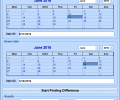 Difference Between Two Dates Software Screenshot 0