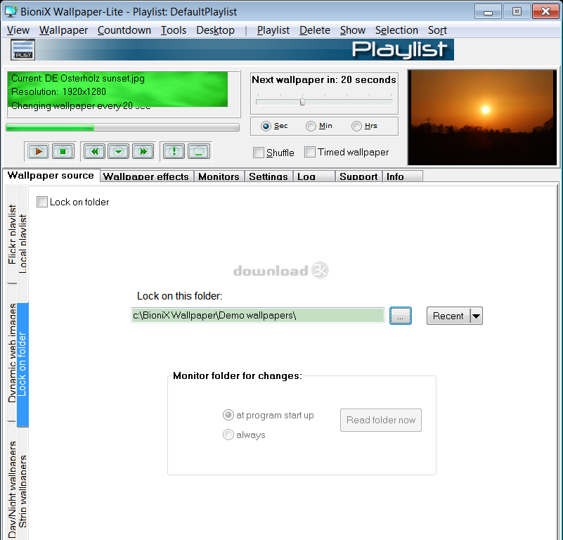BioniX Wallpaper Changer Lite Screenshot 4