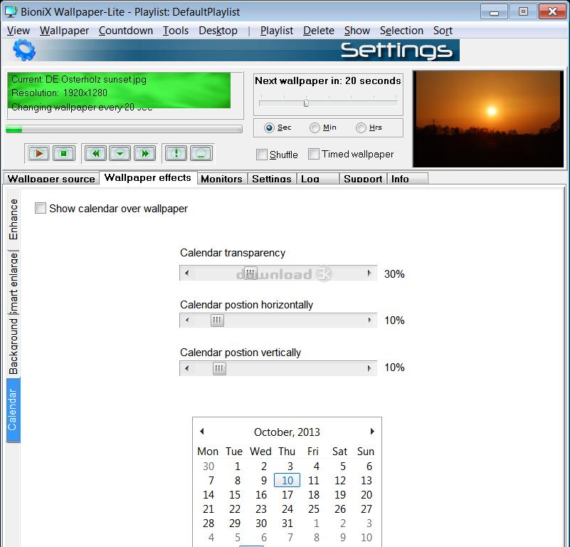 BioniX Wallpaper Changer Lite Screenshot 7