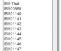 Encodings Screenshot 0