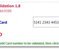 Credit Card Validator Screenshot 0