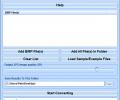 Convert Multiple BMP Files To JPG Files Software Screenshot 0