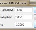 Sample Rate and BPM Calculator Screenshot 0