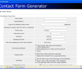Contact Form Generator Screenshot 0