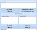 Check Domain Name Availability Software Screenshot 0