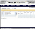 TimeLive open source  timesheet Screenshot 0