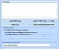 Convert Multiple PSD Files To JPG Files Software Screenshot 0