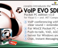 VoIP EVO SDK for Pocket PC and Windows Mobile Screenshot 0
