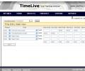 TimeLive time tracking software Screenshot 0