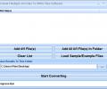 Convert Multiple AVI Files To MPEG Files Software Screenshot 0