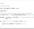 FilenameFilters Screenshot 0