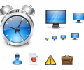 Aqua Application Icons Screenshot 0
