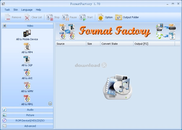 file format factory filehippo