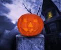 Keep Out Halloween Edition 3D Screen Saver Screenshot 0