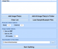 Split Images Into Multiple Files & Create HTML Tables Software Screenshot 0