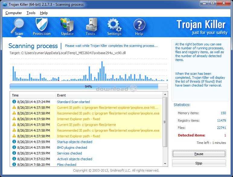 gridinsoft anti-malware key 3.2.8