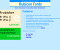 Frobisher Font OpenType Screenshot 0