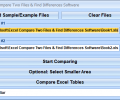 Excel Compare Two Files & Find Differences Software Screenshot 0