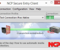 NCP Secure Entry Windows Client Screenshot 0