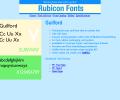 Guilford Font OpenType Screenshot 0