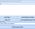 Rename Multiple Files With Time and Date Software Screenshot 0